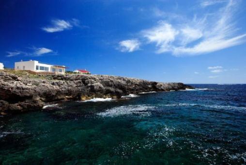 Chalet junto al mar en Binibeca Vell