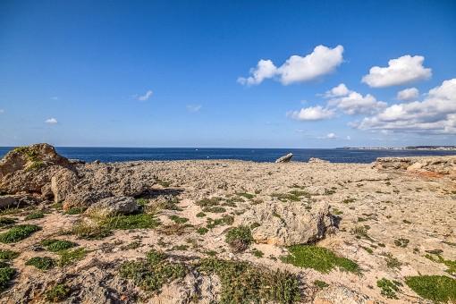 Rocas con vistas al mar