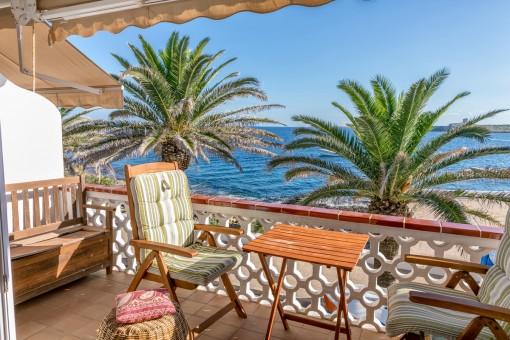 Casa en S'Algar en primera línea de mar con vistas espectaculares