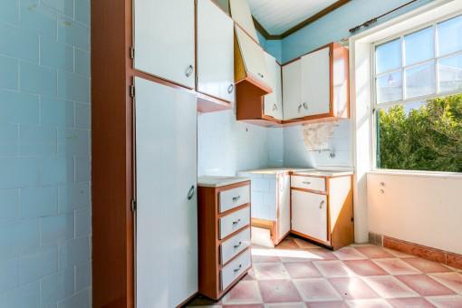 Otra cocina en la planta superior