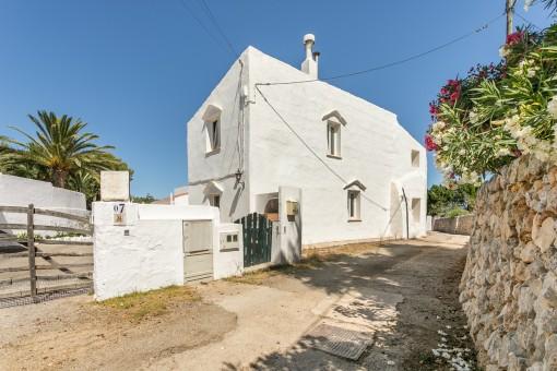 Casa de pueblo reformada en uno de los pueblos más típicos de Menorca, en S'Ullastrar en Torret